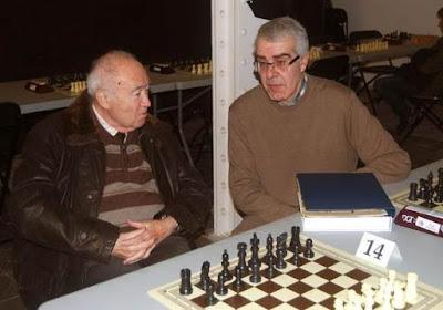 Josep Miquel Ridameya i Tatché y Alejandro Melchor en 2012