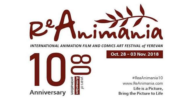 Inicia 10º Festival Internacional ReAnimania de Ereván