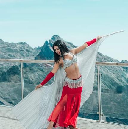 Mérida vibra con la danza árabe de Adali Mejías