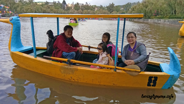 Baguio City - Burnham Park - boating