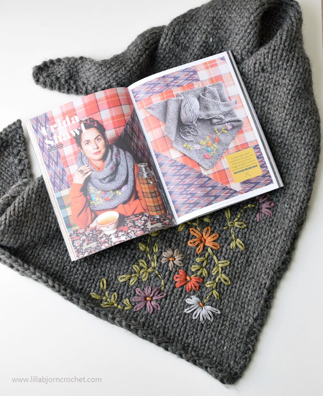 Frida Shawl_knitting pattern by Miss Neriss