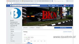 akun facebook bkn