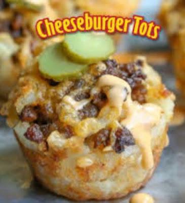 Cheeseburger Tots