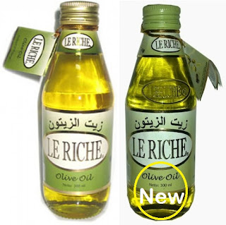 jual minyak zaitun le riche di surabaya sidoarjo jakarta