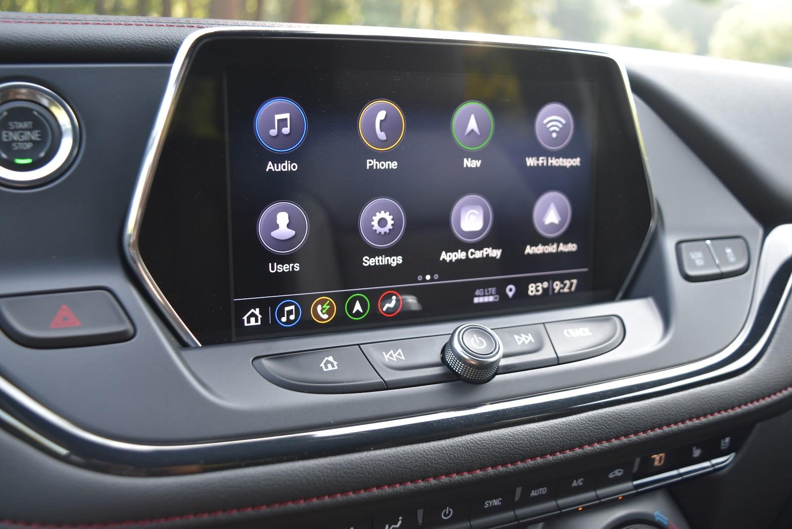 2019 Chevy Blazer Navigation System