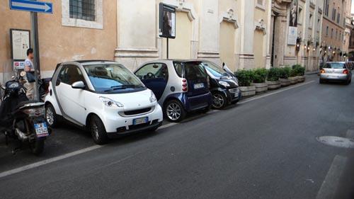 ローマの駐車方法