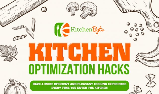 Kitchen Cheat Sheet: The Kitchen Optimization Hacks #infographic