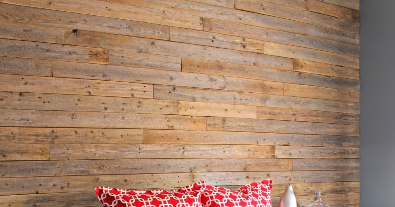 Dimples And Tangles Diy Wood Fence Plank Wall Tutorial