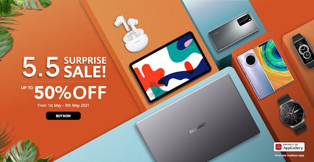 Huawei Shopee Sale Gizmo Manila