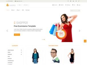 E Shopper - Free eCommerce HTML Template - Colorlibo