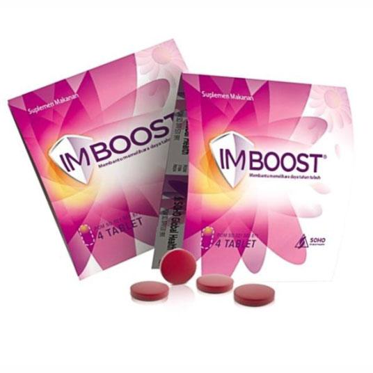 Inilah Manfaat, Efek Samping, Dosis dan Cara Penggunaan Imboost