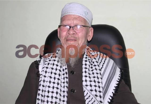Aceh Berduka : Abu Paloh Gadeng Tutup Usia