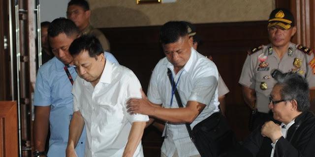 'Drama' Setya Novanto di Pengadilan Tipikor bikin hakim kewalahan