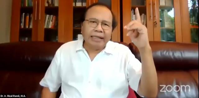 Rizal Ramli: UU Cipta Kerja Tidak Memperbaiki Benang Kusut, Malah Bikin Tambah Ruwet