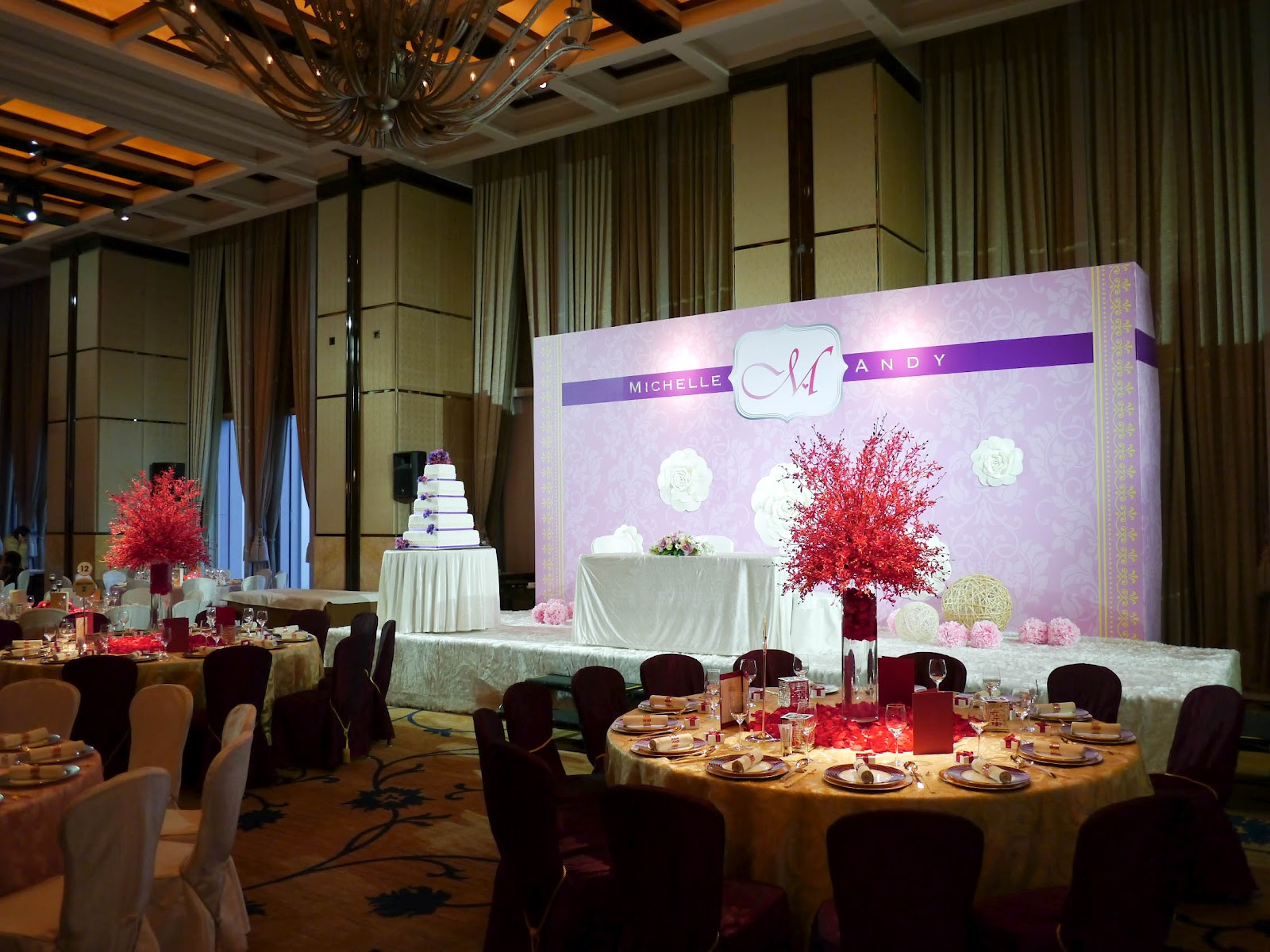 A Thematic Wedding Four Seasons Hong Kong Harbourview Ballroom