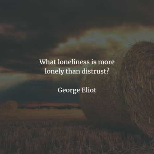 Famous quotes and sayings by George Eliot