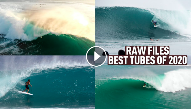The BEST TUBES Of 2020 in Indonesia Bali Deserts Nias Mentawais - RAWFILES