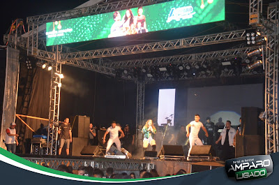 Gil Mendes e Anderson Rocha se apresentaram em Amparo na Segunda noite da Festa de Janeiro 2020