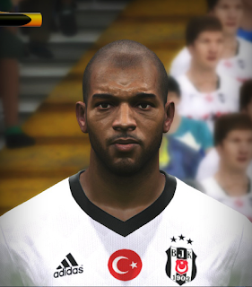 PES 2017 Faces Ryan Babel by FaceEditor Jefferson_SF