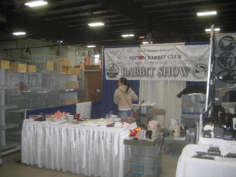 Northern California Angora Guild: Booths at the ARBA Convention in MA