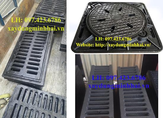 Chuyên cung cấp Nắp hố ga, Lưới chắn rác,Nắp bể cáp …097.423.6786