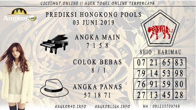 PREDIKSI HONGKONG POOLS 03 JUNI 2019
