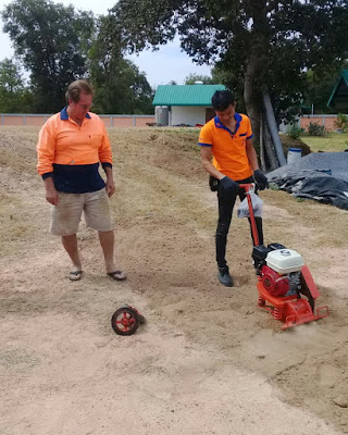 Wacker packer or Soil compacter with Honda Engine Thailand