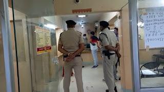 वैशाली में लुटेरों ने PNB बैंक पर बोला हमला, कर्मचारियों को बंधक बनाकर दिनदहाड़े 19 लाख की लूट
