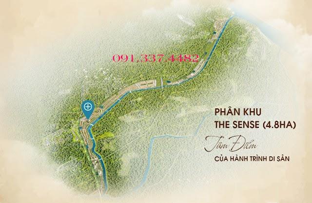 Phân khu The Sense dự án Sunshine Heritage Resort Financial Landmark Xuân Phú Phúc Thọ Hà Nội