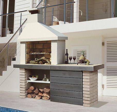 Hogar diez este verano disfruta de tu cocina exterior for Cocinas exteriores pequenas