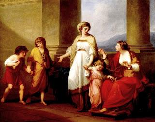 Una visión idealizada de la familia de Cornelia.