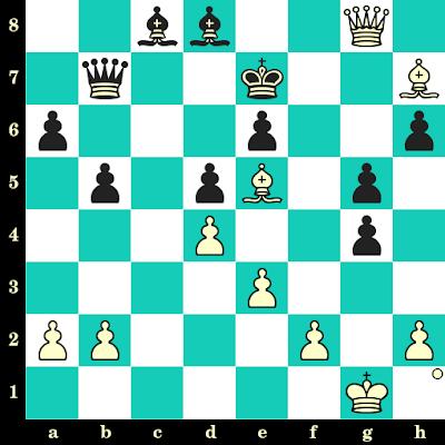 Les Blancs jouent et matent en 2 coups - Yair Kraidman vs H M Hasan, Skopje, 1972, Skopje, 1972