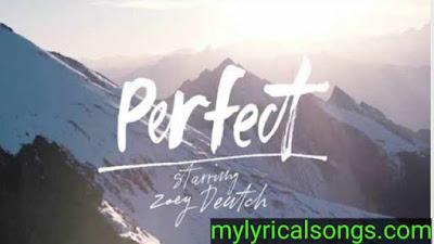 Parfect Song Lyrics Ed Sheeran