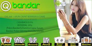 Promo Bonus Agen Domino Online QBandar - www.Sakong2018.com