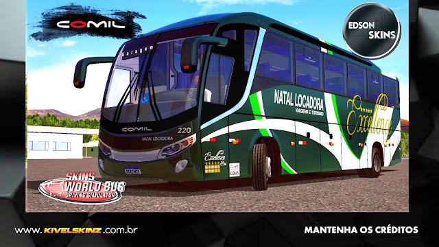 COMIL 1200 4X2 - VIAÇÃO NATAL LOCADORA VIAGENS E TURISMO