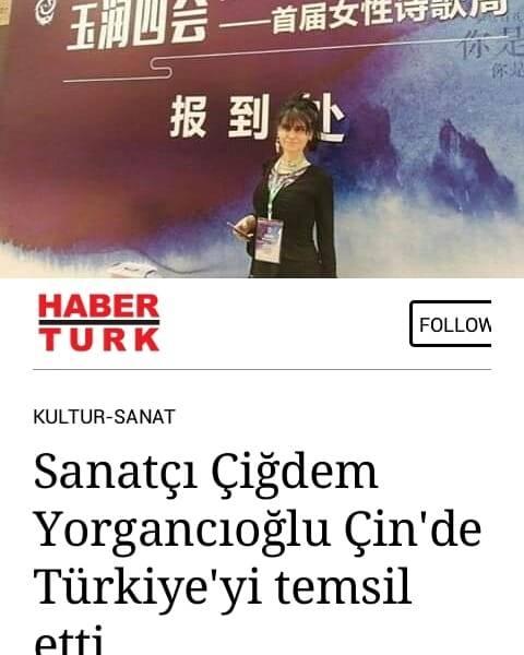 CIGDEM YORGANCIOGLU HABERTURK CHINA