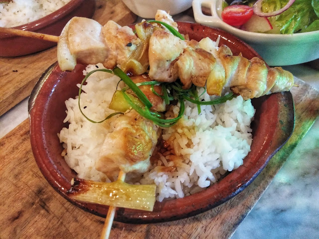 Chicken Yakitori Rice