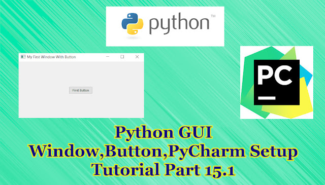 Python GUI Button Tutorial Part 15.1