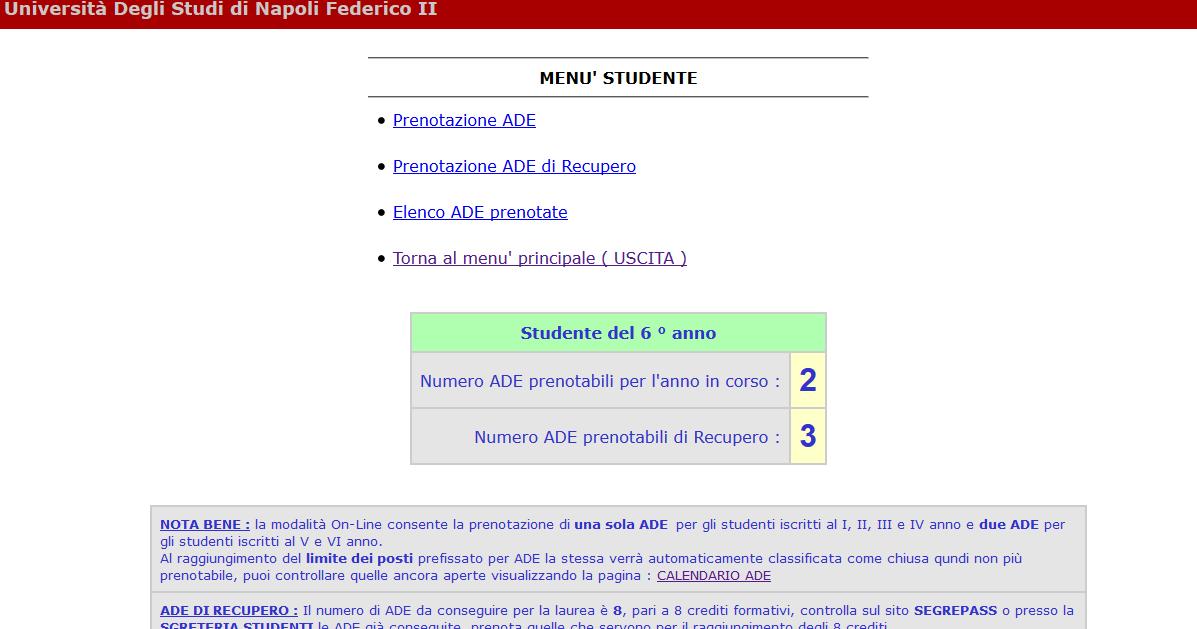 Calendario Ade Unina.Unina It Blind Sql Injection Xss Data Leak System
