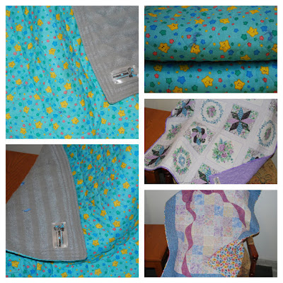 4 small children's quilts
