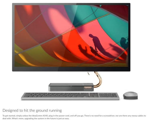 Lenovo A540 AIO Ideacentre QHD Touchscreen All-in-One PC