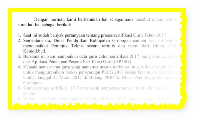 SERTIFIKASI GURU TAHUN 2017 KATAGORI PLPG DAN UTN