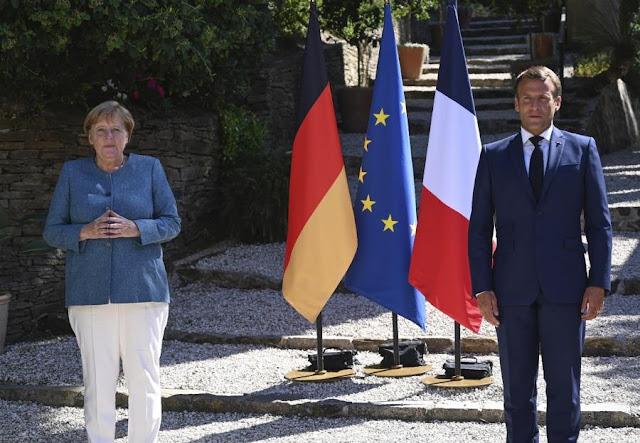 Μέρκελ - Μακρόν: Δεν θα ανεχθούμε απειλές κατά της κυριαρχίας κρατών-μελών της ΕΕ