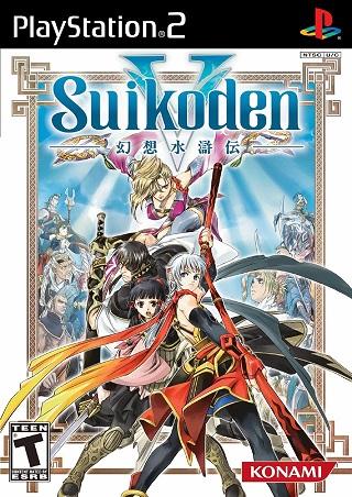 Game RPG Suikoden V PS2