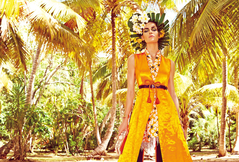 hilary rhoda by mariano vivanco for vogue japan may 2015