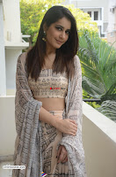Rashi Khanna in a Tebe Top Sizzling Beauty at Tholi Prema Movie Interview ~  Exclusive 008.jpg
