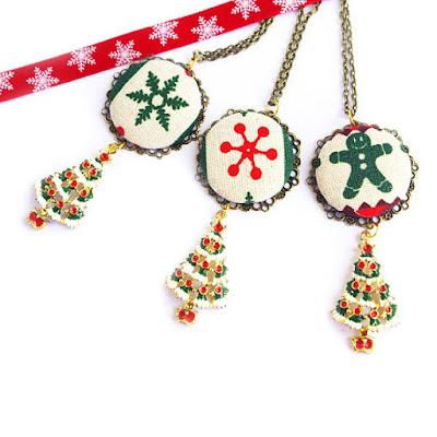 bijoux tenue de noël