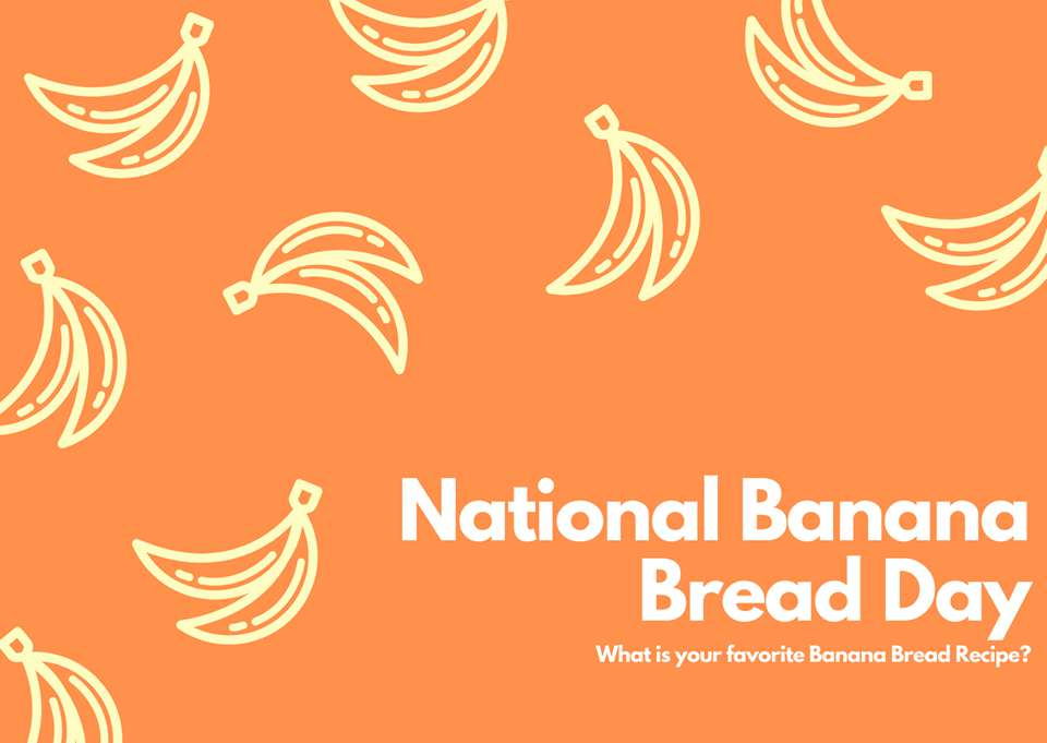 National Banana Bread Day Wishes Images