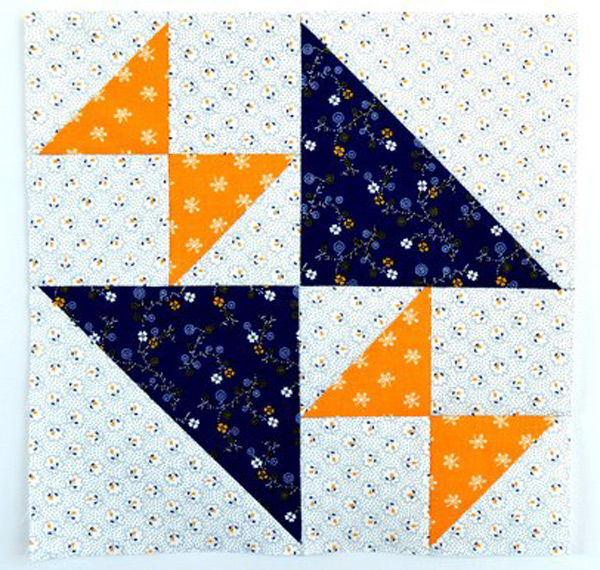 Crosses & Losses Quilt Block Tutorial