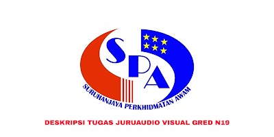 Deskripsi Tugas, Gaji dan Kelayakan Juruaudio Visual Gred N19